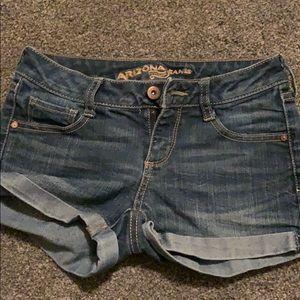 Arizona jean Co. jean shorts size 0 juniors